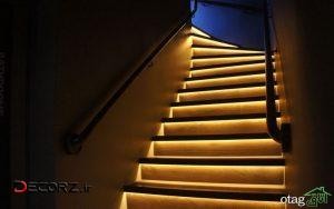 بهترین نورپردازی راه پله، 20 نمونه طراحی دیدنی