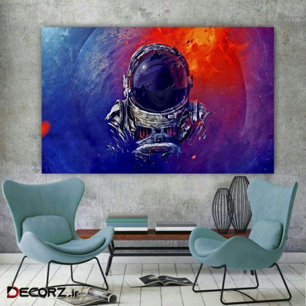 تابلو بوم مدل فضانورد کد AR143