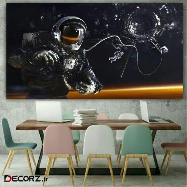 تابلو بوم مدل فضانورد کد AR150