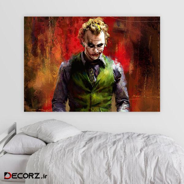 تابلو شاسیطرح Joker کد 3262