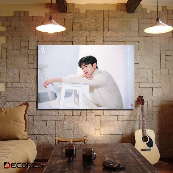 تابلو شاسی مدل cha eun woo کد 4