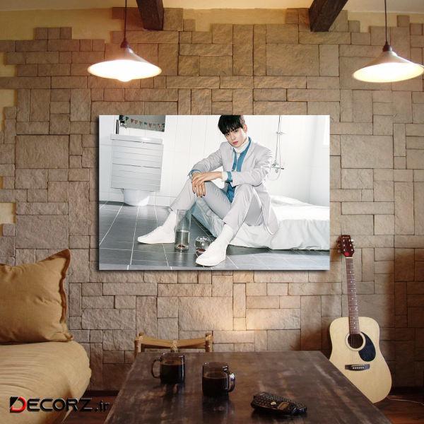 تابلو شاسی مدل cha eun woo کد 6