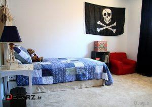 دکوراسیون اتاق خواب پسرانه 18 مدل زیبا از طراحی و چیدمان