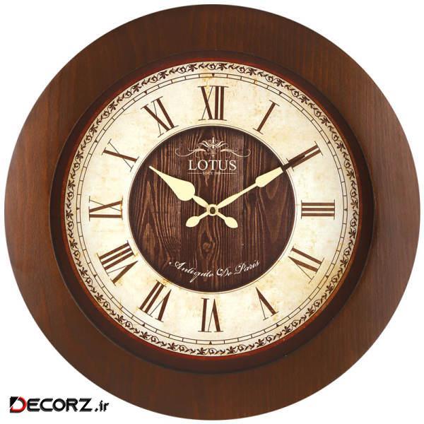 ساعت دیواری لوتوس کد NORWICH W-9823