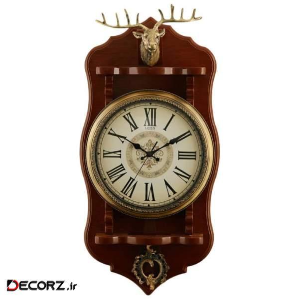 ساعت دیواری لوتوس کد WSP-8805-DEER