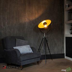 سبک دکور صنعتی با لامپ کفپوش ترندهای سال 1400