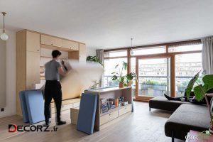 مبلمان چند منظوره بهترین گزینه برای خانه های آپارتمانی