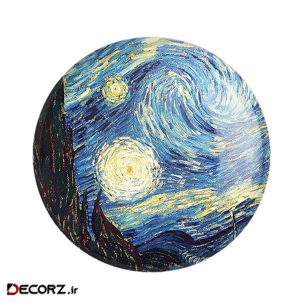مگنت خندالو طرح شب پر ستاره ونگوگ کد 6012