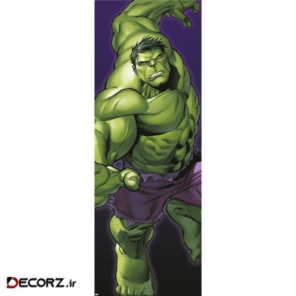 پوستر دیواری کومار مدل Hulk 1-429