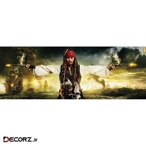 پوستر دیواری کومار مدل Pirates & Pistols 1-419