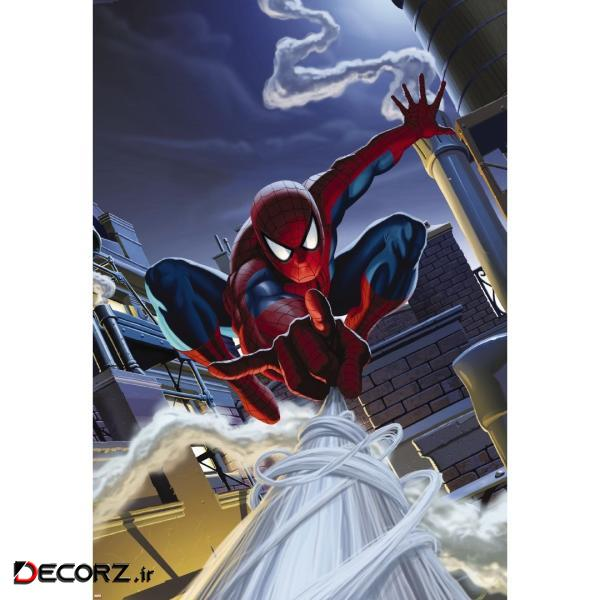 پوستر دیواری کومار مدل Spiderman Rooftop 1-424
