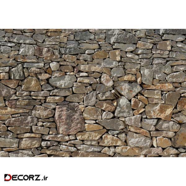 پوستر دیواری کومار مدل Stone Wall 8-727