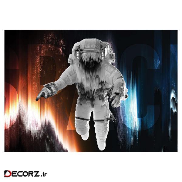 پوستر طرح فضانورد کد 994