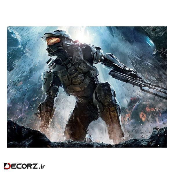 پوستر مدل هالو Halo Infinite کد 2285