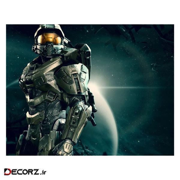 پوستر مدل هالو Halo Infinite کد 2287