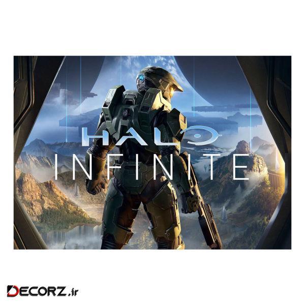 پوستر مدل هالو Halo Infinite کد 2290