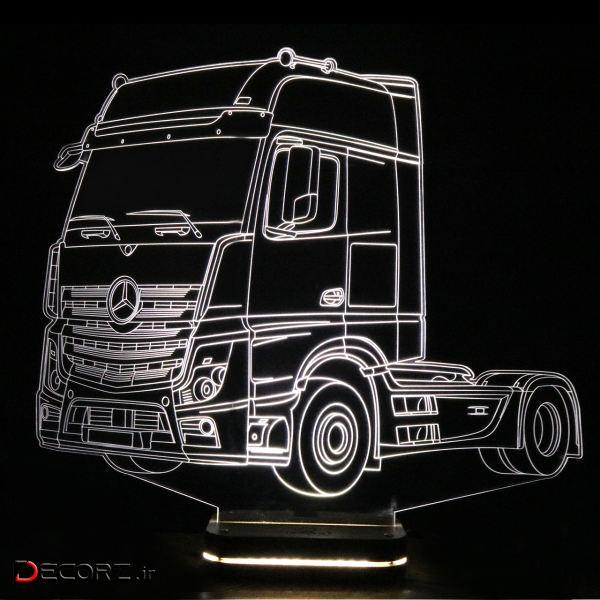 چراغ خواب نورا طرح کامیون بنز