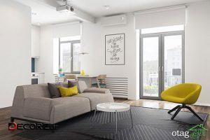 پلان آپارتمان ۵۰ متری در سه طرح کاملا متفاوت و بسیار دقیق