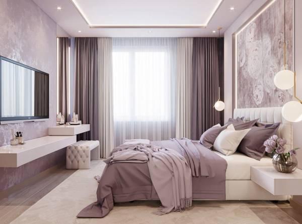 اتاق خواب شیک یاسی
