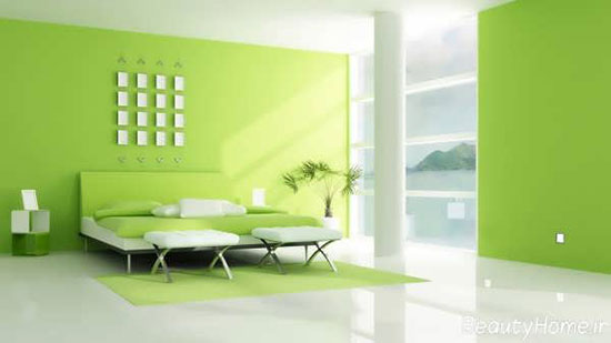 طراحی دکوراسیون سبز برای نقاط مختلف خانه های مدرن