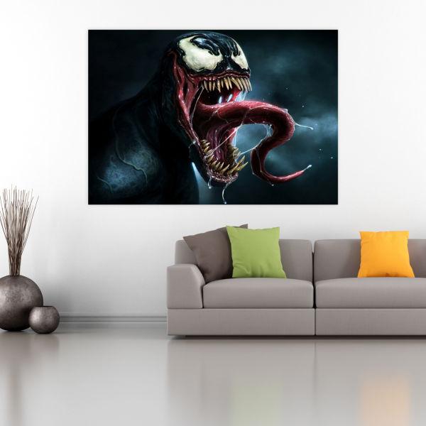 تابلو شاسیطرح Venom کد 3257