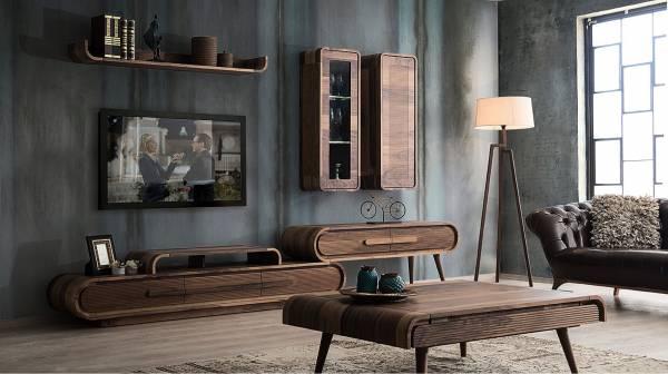 میز ال سی دی و تلویزیون چوبی