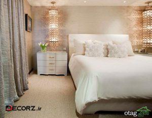 روش های جدید و کاربردی طراحی نورپردازی اتاق خواب مدرن