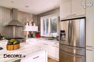 13 ایده طراحی برای گران تر به نظر رسیدن آشپزخانه شما(ترجمه مرتضایی)