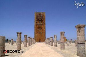 برج تاریخی و دیدنی حسن در مراکش