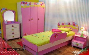 مدل سرویس خواب کودک جدید در نمونه های داخلی و خارجی
