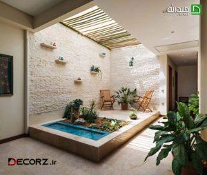 پربازدیدترین طراحی فضای سبز در خانه های ایرانی !