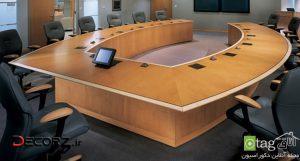 آشنایی با انواع میز کنفرانس مناسب شرکت های بزرگ تجاری
