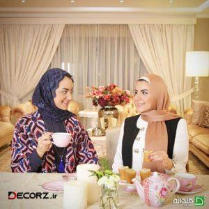 دکوراسیون خانه دو خواهر ایرانی در کویت، جلوه ای از روح زنانه!