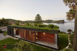 ساخت خانه ساحلی سازگار بامحیط زیست در شش هفته