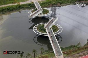 طراحی جالب پل فردریش بایر در سائو پائولو