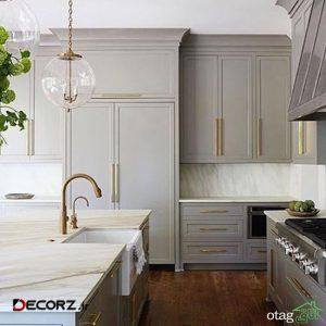 طرح های جدید کابینت رنگ روشن در آشپزخانه های مدرن و سنتی