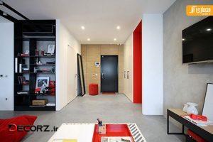 قرمز و آبی : بررسی دو آپارتمان زیر 70 متر مربع