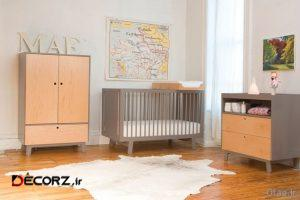 مدل های جدید تخت خواب نوزاد در دکوراسیون های شیک اتاق خواب