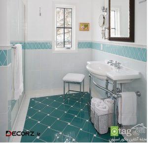 مدل های جدید و منحصر بفرد کاشی و سرامیک دستشویی و حمام