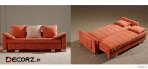 مدل های مختلف مبل تختخواب شو و کاناپه تخت تاشو زیبا و شیک