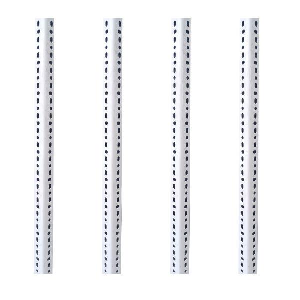 پایه قفسه مدل پیچی طول 2 متر مجموعه 4 عددی