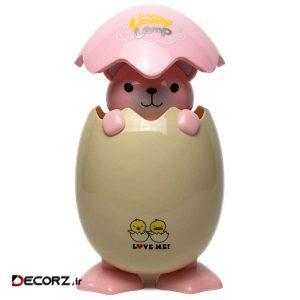 چراغ خواب کودک لاولی لمپ مدل تخم مرغ