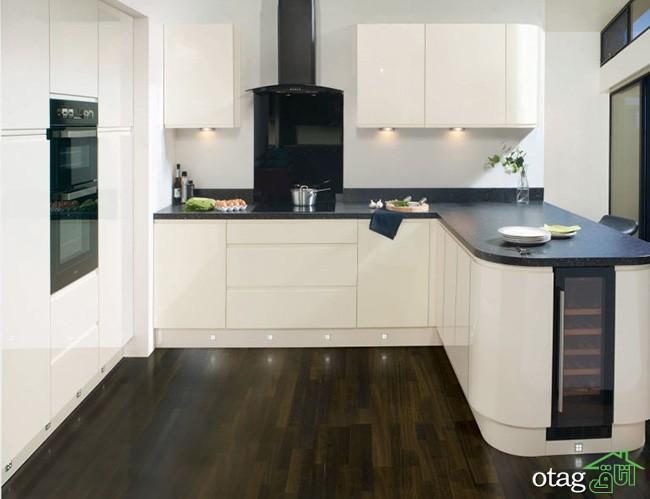 معرفی 5 مدل شیک دیزاین آشپزخانه کوچک با مساحت زیر 20 متر