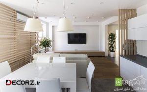 طراحی داخلی آپارتمان با چینش مناسب لوازم برای خردسالان