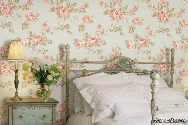 کاغذ دیواری اتاق