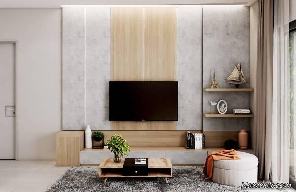دکور دیوار پشت تلویزیون