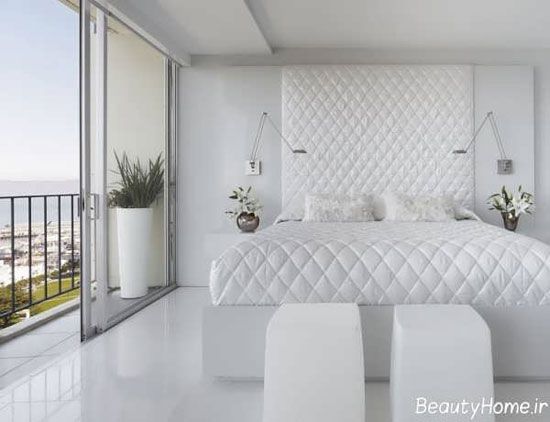 تصاویر انواع دکوراسیون منزل سفید با طراحی مدرن و جذاب