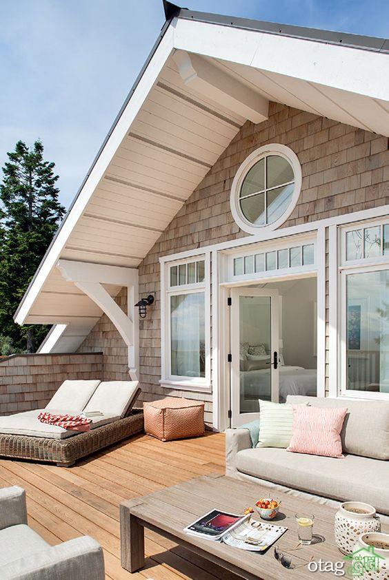 ایده های رنگی دکوراسیون خانه ساحلی در سال 1400