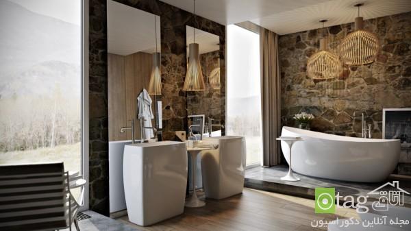 معرفی مدل هایی از دکوراسیون حمام و سرویس بهداشتی فوق لوکس