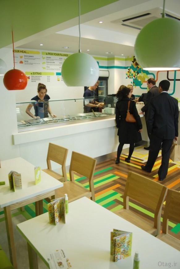 دکوراسیون داخلی و خارجی رستوران شیک و مدرن / عکس 2015
